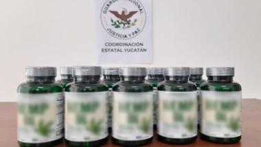 Aseguran en Mérida aceite de Cannabis