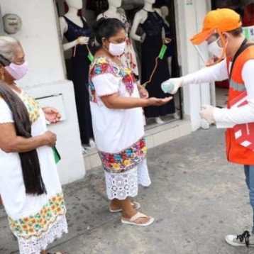 Brigada de salud busca prevenir contagios de Coronavirus