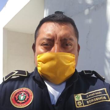 Muere bombero de Maxcanú por covid