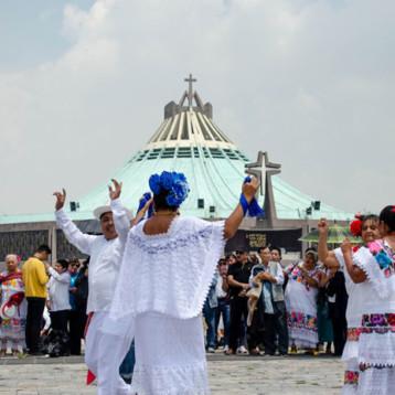 """Pandemia """"cancela"""" peregrinación de yucatecos a la Basílica de Guadalupe"""