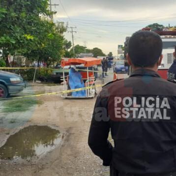 Muere a bordo de un mototaxi en Kanasín