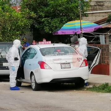 Abuelito muere en un taxi en la Azcorra