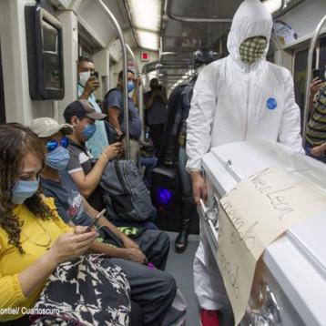 COVID-19: México acumula 30,639 fallecidos, supera 255,000 confirmados