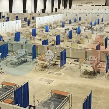 Yucatán comienza a utilizar reserva de camas para atender covid