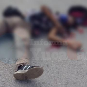 Kanasín: Repartidor de pizzas muere atropellado por falta de una señal de alto