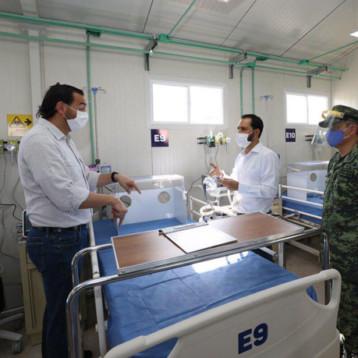 """Defiende Secretario de Salud """"control de la pandemia"""" en Yucatán"""