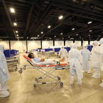 Siete pacientes hospitalizados en el Siglo XXI el primer día de operaciones