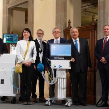 Gobierno presenta a Ehécatl 4T y Gätsi, los ventiladores médicos 100% mexicanos
