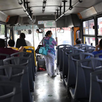 Listo protocolo para aumentar número de pasajeros en el transporte público