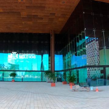 Inicia operaciones el hospital temporal del Centro de Convenciones Siglo XXI