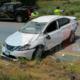 Protagoniza aparatoso accidente por conducir en estado de ebriedad