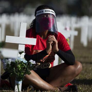 Brasil supera 98 mil muertos y 2,9 millones de contagiados
