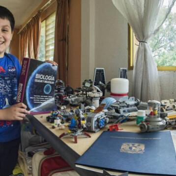 """""""Niño genio"""" estudiará en universidad de Mérida"""