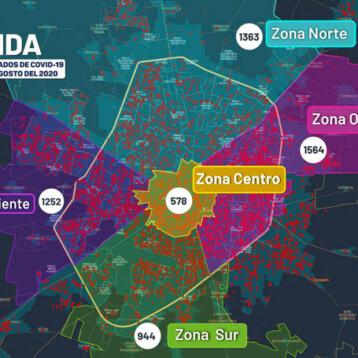 Hay más de 1,200 casos activos de covid en Yucatán