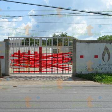 Clausuran crematorio al sur de Mérida