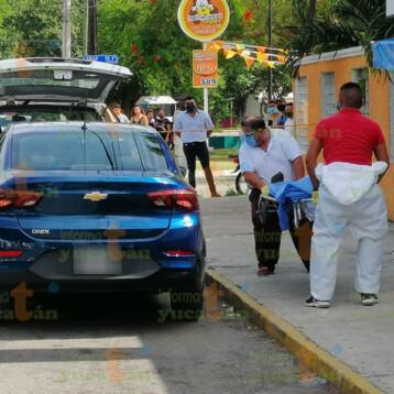 Muere afuera de Farmacias Simi en Pacabtún