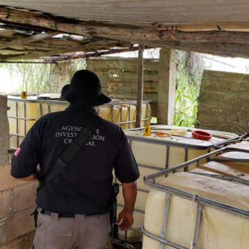 Yucatán: Decomisan más de 3 mil litros de huachicol