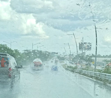 Pronostican lluvias dispersas y mucho calor