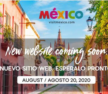 """""""Bajan"""" la página de VisitMéxico y anuncian nuevo contenido"""
