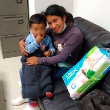 Hallan a Dylan Esaú, el niño raptado en un mercado en Chiapas
