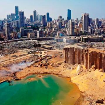 ONU alerta por residuos tóxicos tras explosión en Beirut, Líbano