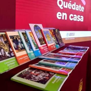 SEP desinfectará 182 millones de libros de texto gratuitos antes de entregarlos