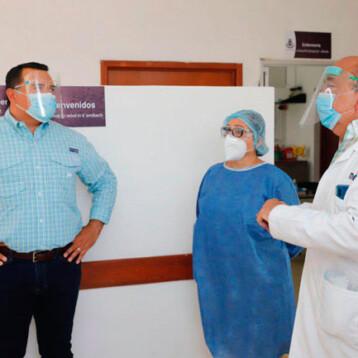 Supervisan módulos médicos del Ayuntamiento