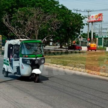 """Regulación de mototaxis acabará con """"corruptelas"""" en Yucatán"""