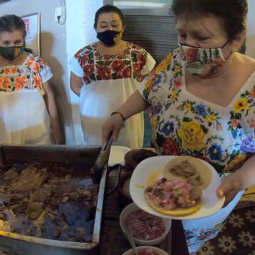 Yucatán sigue conquistando al mundo con su gastronomia y su cochinita pibil