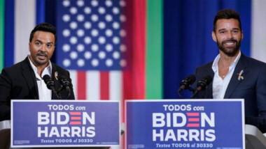 Donald Trump y Joe Biden disputan el voto hispano al ritmo de Despacito