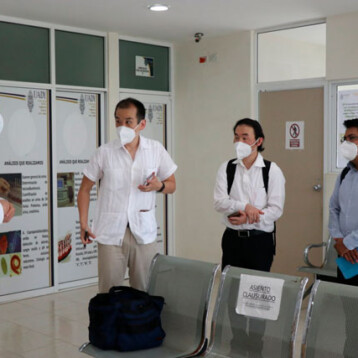 Nipones interesados en laboratorios de investigación de UADY