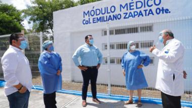 Reanudan servicios en módulos de salud del Ayuntamiento