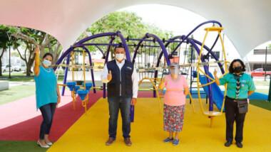 Vecinos 'diseñan' parque en Brisas