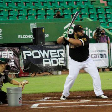 """El """"Pepón"""" Juárez gana el Home Run Derby en el """"Kukulcán"""""""