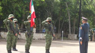 General Francisco Aranda asume mando de 32 zona militar