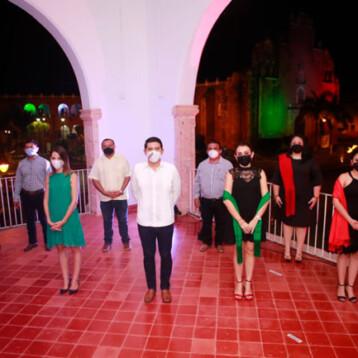 Celebran en Tekax el Grito de Independencia
