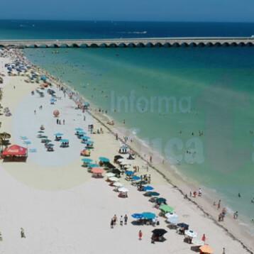 Apartir del 2 de noviembre reapertura de playas en Yucatán