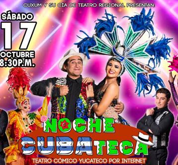 """Cuxum estrena la obra """"Noche Cubateca"""""""