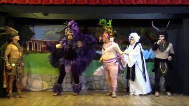 """'Huay viene el tucho"""", la nueva propuesta de teatro regional por internet"""