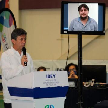 Luis Ibarra gana el Premio Estatal del Deporte 2020