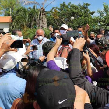 """Habían """"infiltrados"""" en protesta en el Fracc. Las Américas: Renán"""
