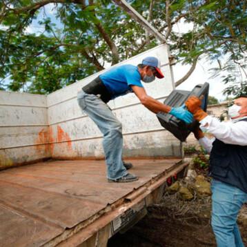 En marcha programa emergente de descacharrización en Noc Ac