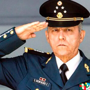 Detienen en Estados Unidos a Salvador Cienfuegos, exsecretario de la Defensa Nacional