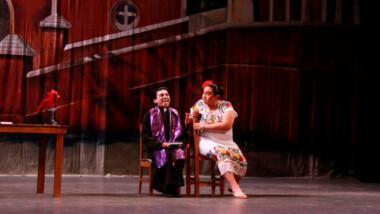 """Picardía y diversión, en la obra de teatro regional""""Ya me llevó la Calaca"""""""