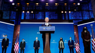Joe Biden presentó su equipo de seguridad nacional
