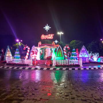 Empresas se suman a la navidad de Mérida