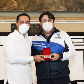 Luis Ibarra Chami, recibe el Premio Estatal del Deporte 2020