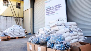 Distribuyen apoyos del Fonden enfocados a prevenir enfermedades en 29 municipios