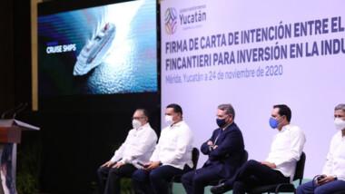 México tendrá el astillero más grande de Latinoamérica y estará en Yucatán