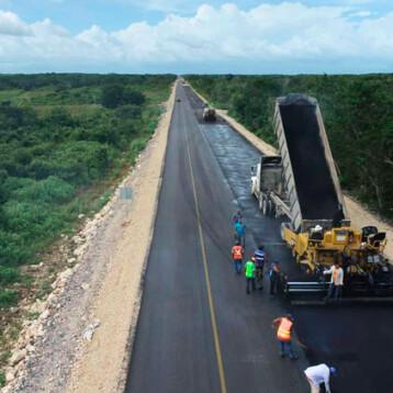 Casi lista la ampliación y modernización de la carretera Mérida-Chetumal